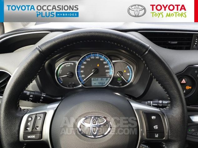 Toyota YARIS HSD 100h Dynamic 5p Blanc Nacre Occasion - 7