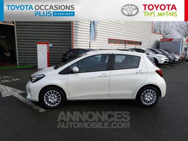 Toyota YARIS HSD 100h Dynamic 5p Blanc Nacre Occasion - 19