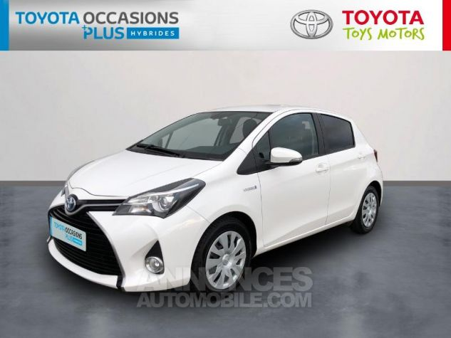 Toyota YARIS HSD 100h Dynamic 5p Blanc Pur Occasion - 0