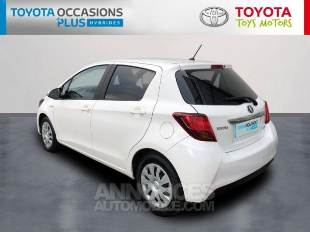 Toyota YARIS HSD 100h Dynamic 5p Blanc Pur Occasion - 1