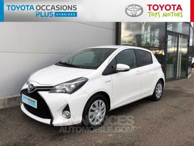 Toyota YARIS HSD 100h Dynamic 5p Blanc Pur Occasion - 19