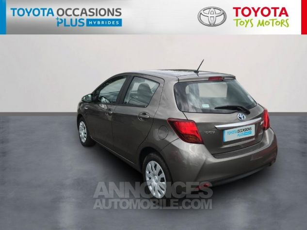 Toyota YARIS HSD 100h Dynamic 5p Gris Clair Occasion - 1