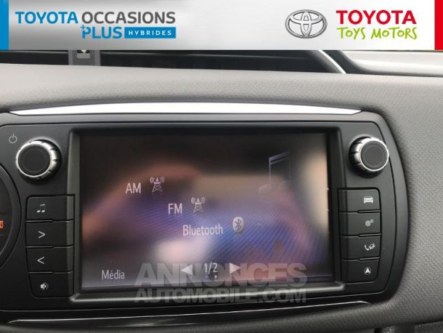 Toyota YARIS HSD 100h Dynamic 5p Gris Clair Occasion - 6