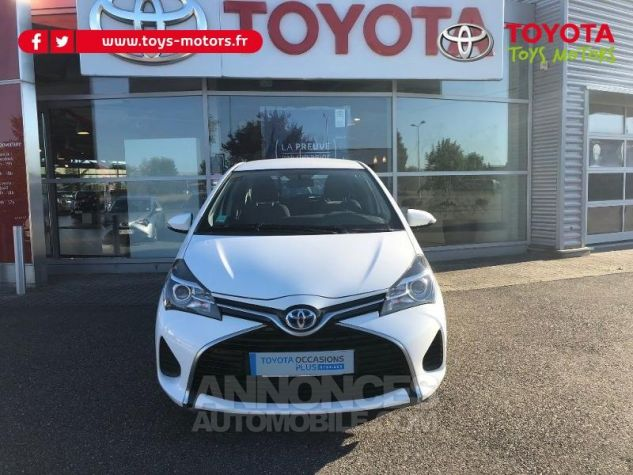 Toyota YARIS HSD 100h France 5p BLANC Occasion - 0