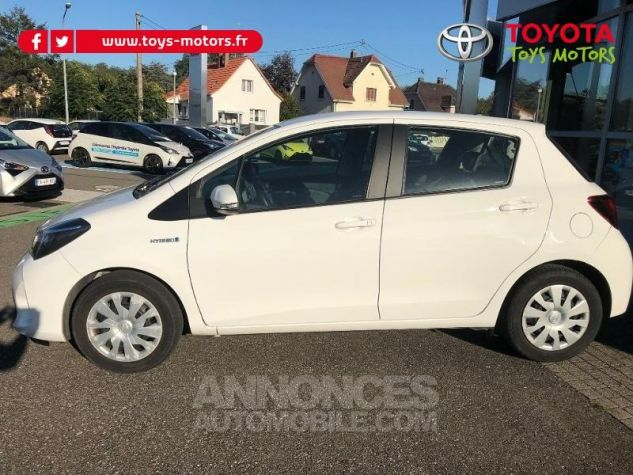 Toyota YARIS HSD 100h France 5p BLANC Occasion - 2