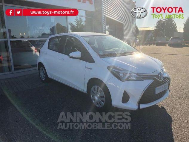 Toyota YARIS HSD 100h France 5p BLANC Occasion - 3