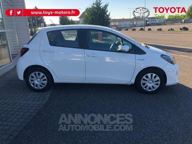Toyota YARIS HSD 100h France 5p BLANC Occasion - 4