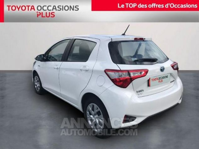 Toyota YARIS HSD 100h France 5p Blanc Occasion - 1
