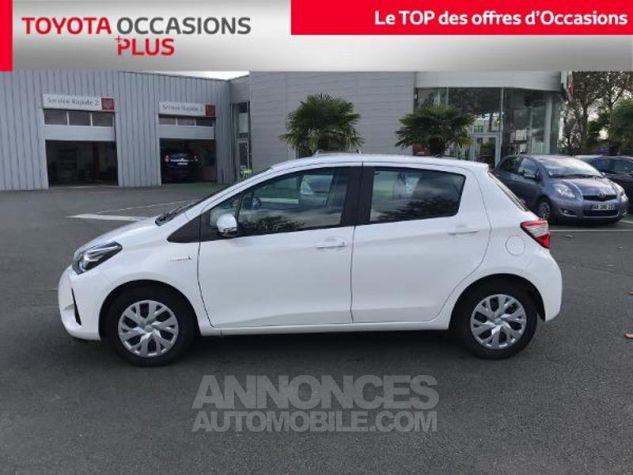 Toyota YARIS HSD 100h France 5p Blanc Occasion - 17
