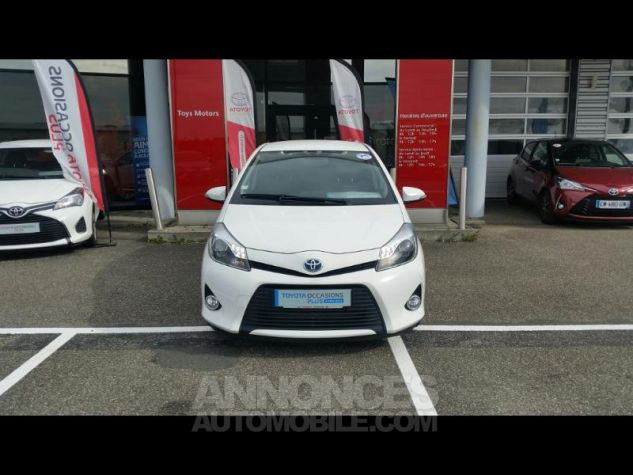 Toyota YARIS HSD 100h Graphic 5p Blanc Occasion - 0