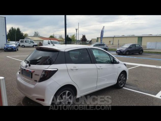 Toyota YARIS HSD 100h Graphic 5p Blanc Occasion - 3