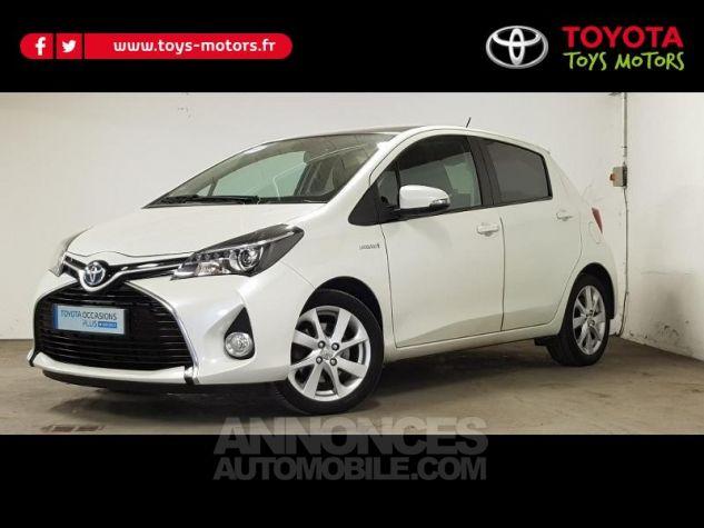 Toyota YARIS HSD 100h SkyBlue 5p BLANC NACRE Occasion - 0