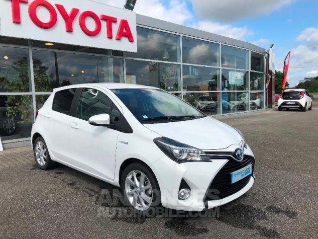 Toyota YARIS HSD 100h Style 5p Blanc Occasion - 7