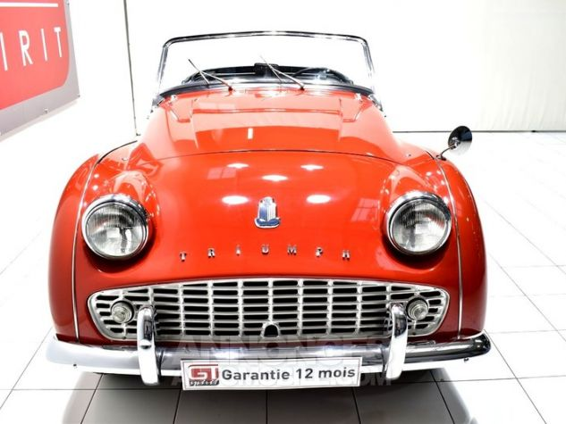 Triumph TR3 A Overdrive Signal Red Occasion - 4