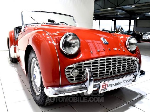 Triumph TR3 A Overdrive Signal Red Occasion - 10
