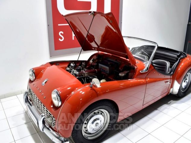 Triumph TR3 A Overdrive Signal Red Occasion - 39