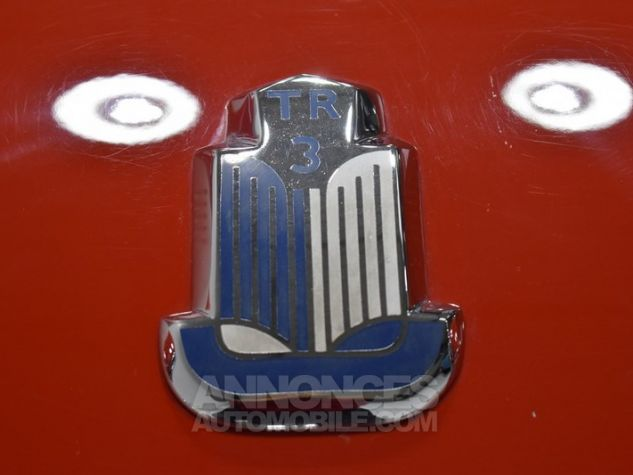 Triumph TR3 A Overdrive Signal Red Occasion - 48
