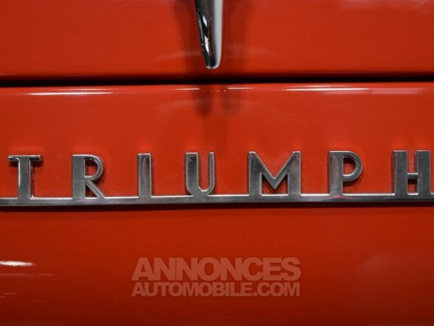 Triumph TR3 A Overdrive Signal Red Occasion - 49