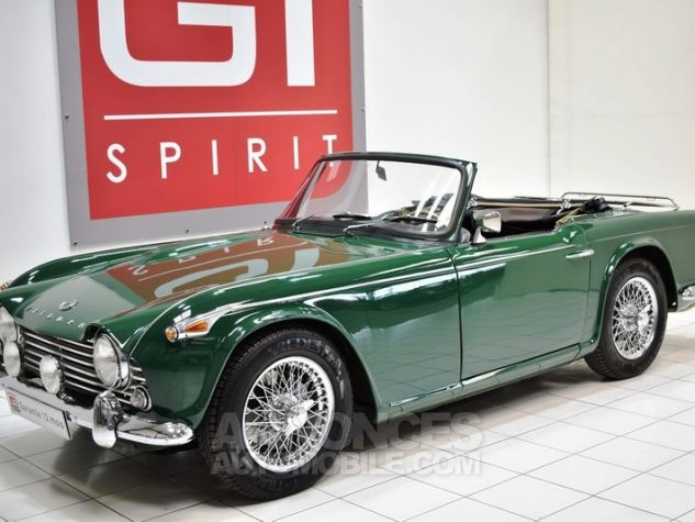 Triumph TR4 A IRS Overdrive British Racing Green Occasion - 0