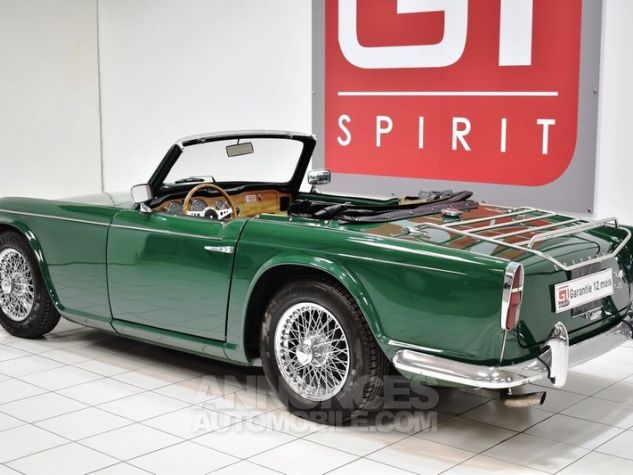 Triumph TR4 A IRS Overdrive British Racing Green Occasion - 1