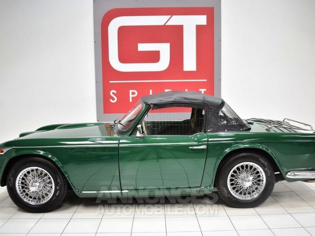 Triumph TR4 A IRS Overdrive British Racing Green Occasion - 2