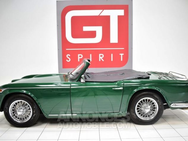 Triumph TR4 A IRS Overdrive British Racing Green Occasion - 4
