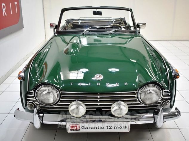 Triumph TR4 A IRS Overdrive British Racing Green Occasion - 5