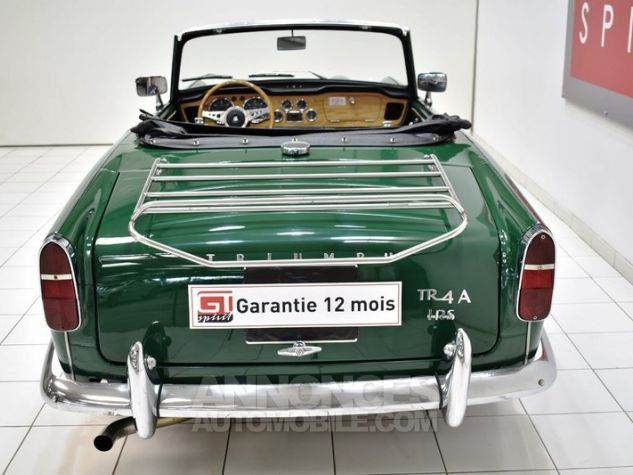 Triumph TR4 A IRS Overdrive British Racing Green Occasion - 6