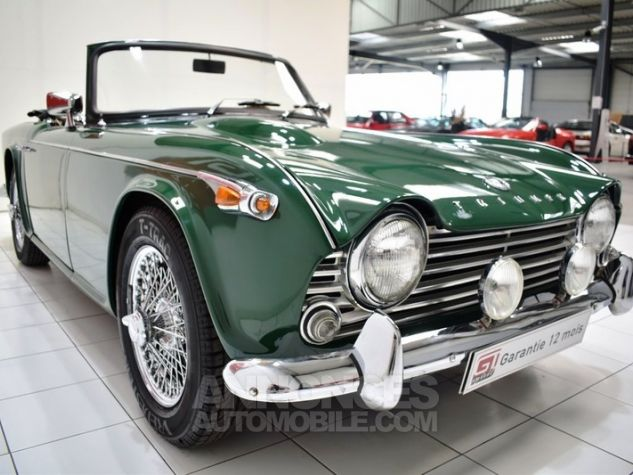 Triumph TR4 A IRS Overdrive British Racing Green Occasion - 10