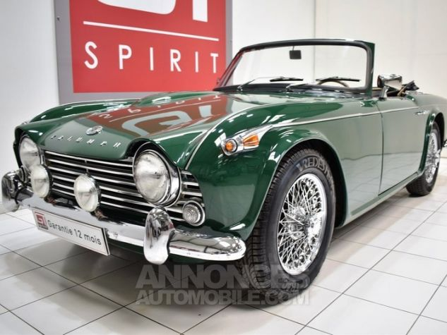 Triumph TR4 A IRS Overdrive British Racing Green Occasion - 12