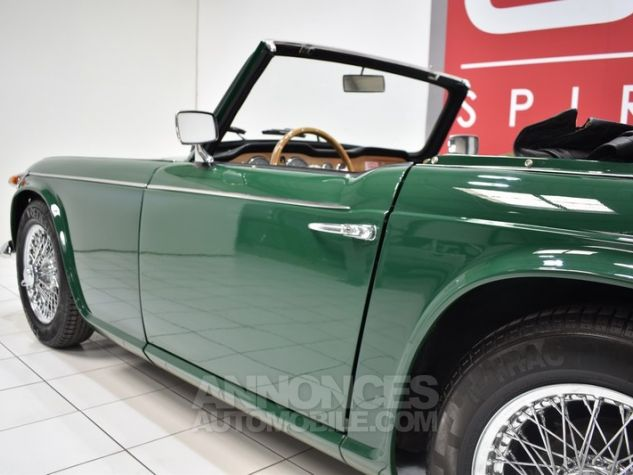 Triumph TR4 A IRS Overdrive British Racing Green Occasion - 14