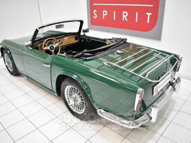 Triumph TR4 A IRS Overdrive British Racing Green Occasion - 15