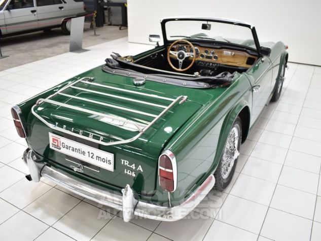 Triumph TR4 A IRS Overdrive British Racing Green Occasion - 19