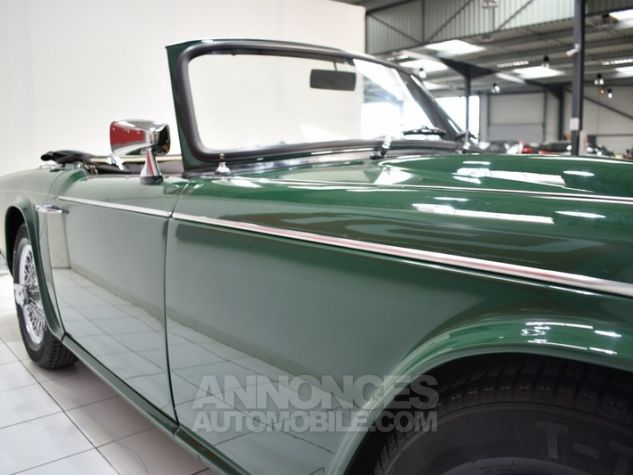 Triumph TR4 A IRS Overdrive British Racing Green Occasion - 21