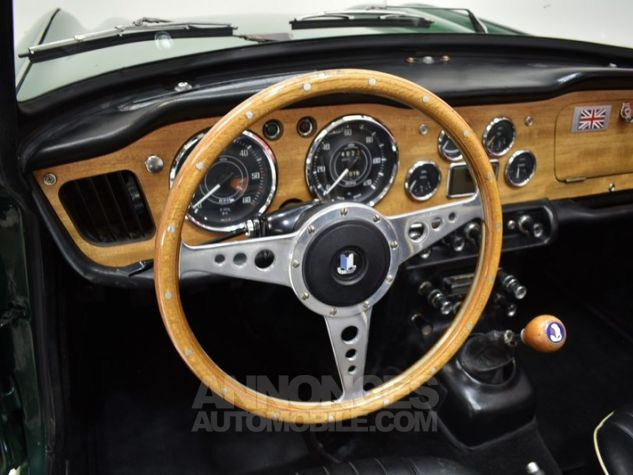 Triumph TR4 A IRS Overdrive British Racing Green Occasion - 35