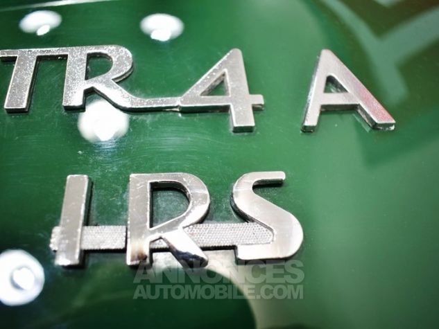 Triumph TR4 A IRS Overdrive British Racing Green Occasion - 48