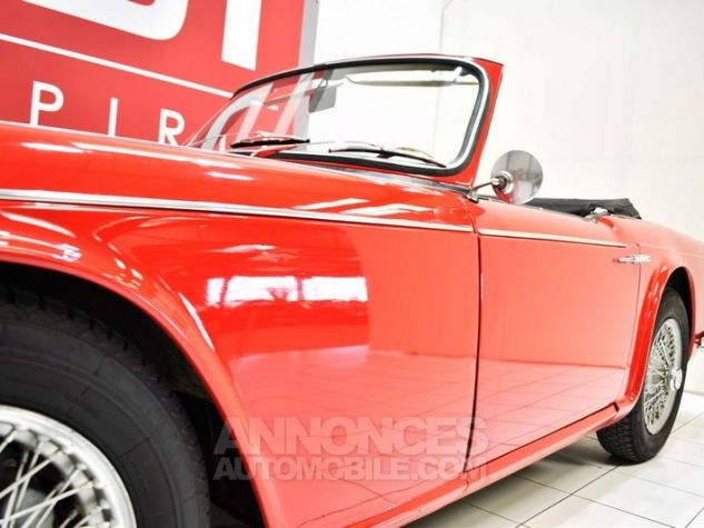 Triumph TR4 A IRS Overdrive Signal Red 32 Occasion - 12