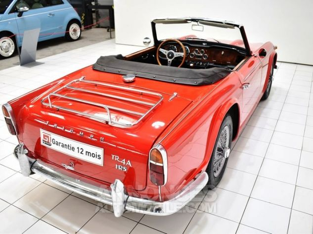Triumph TR4 A IRS Overdrive Signal Red 32 Occasion - 18