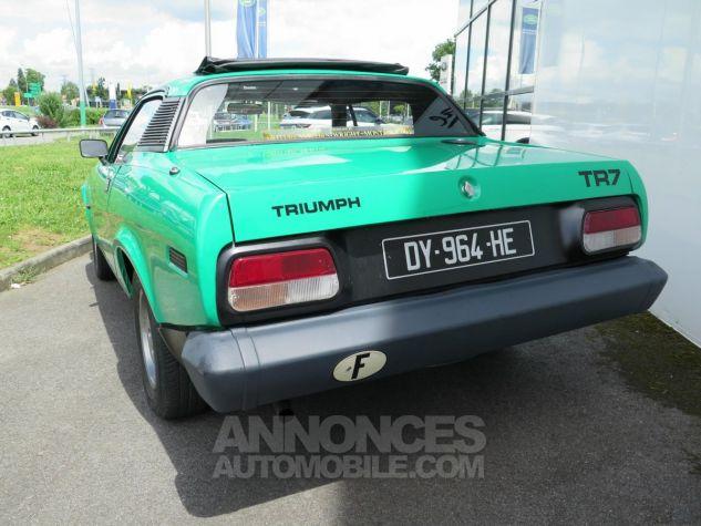Triumph TR7 Découvrable Verte Occasion - 4