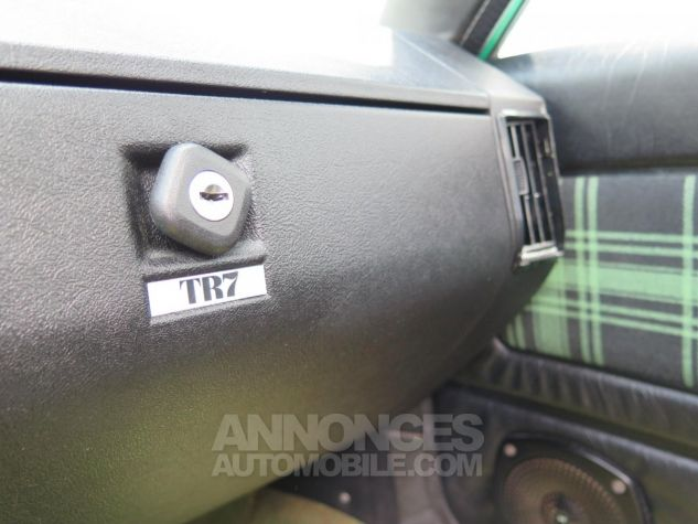 Triumph TR7 Découvrable Verte Occasion - 13