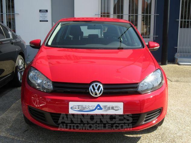 Volkswagen Golf 1.4 80CH TRENDLINE 5P Rouge Occasion - 6