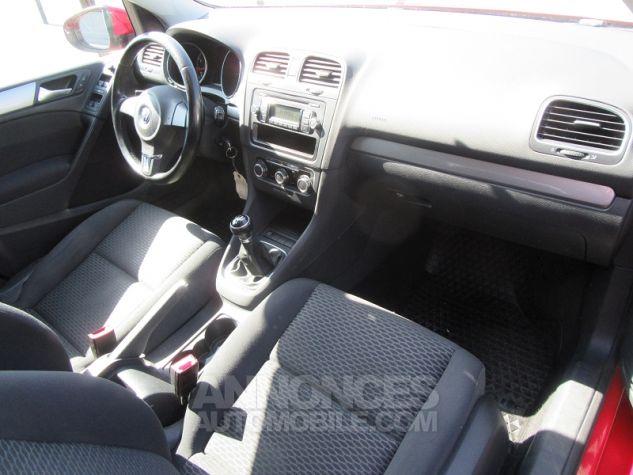 Volkswagen Golf 1.4 80CH TRENDLINE 5P Rouge Occasion - 16