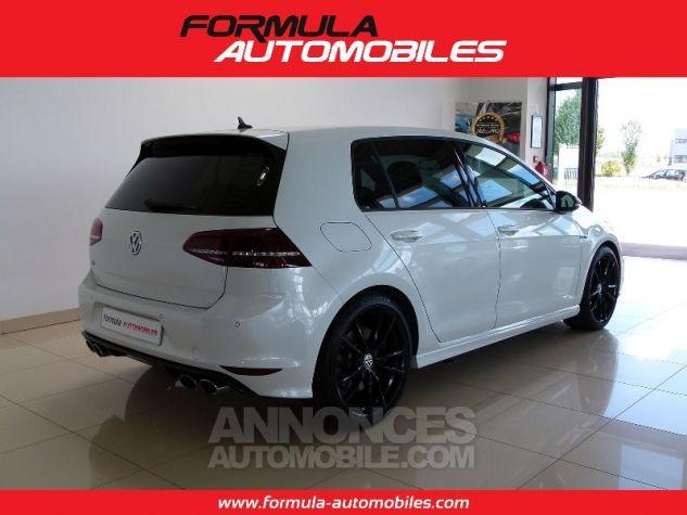 Volkswagen Golf R 300 CV ACC DYN AUDIO CUIR KEYLESS BLANC Occasion - 1