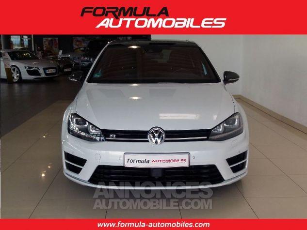 Volkswagen Golf R 300 CV ACC DYN AUDIO CUIR KEYLESS BLANC Occasion - 2