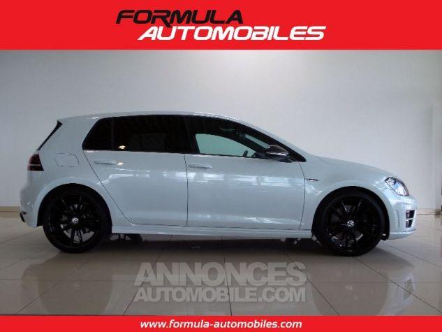 Volkswagen Golf R 300 CV ACC DYN AUDIO CUIR KEYLESS BLANC Occasion - 3