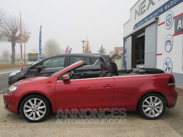 Volkswagen Golf VI CABRIOLET 1.2 TSI 105CH CARAT BLUEMOTION TECHNOLOGY Rouge Occasion - 4