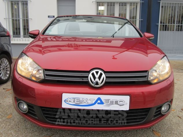 Volkswagen Golf VI CABRIOLET 1.2 TSI 105CH CARAT BLUEMOTION TECHNOLOGY Rouge Occasion - 5