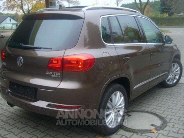 Volkswagen Tiguan Sport & Style CUP 4-Motion 2.0 TDI 140 ch DSG  brun métal Occasion - 4