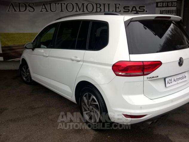 Volkswagen Touran 1.4 TSI 150 BMT DSG7 5PL Sound Blanc Occasion - 2
