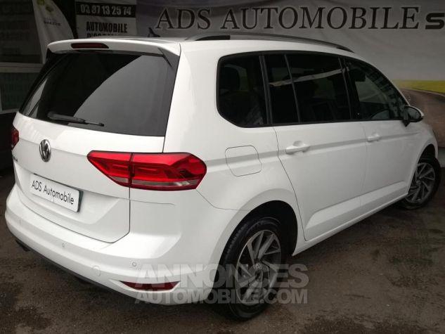 Volkswagen Touran 1.4 TSI 150 BMT DSG7 5PL Sound Blanc Occasion - 3